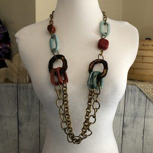 Jewelry - Chunky Chain Link Accent Necklace